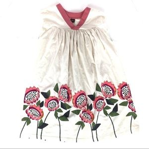 Toddler Girls TEA COLLECTION Waratah Trapeze Dress